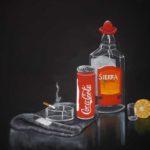 Lisa L - Stillleben - 2013 - Tempera/Leinwand - 50 x 70 cm
