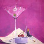 "Polina S. - ""Stillleben"", 2013 - Tempera/Leinwans - 70 x 50 cm"