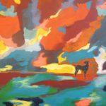 Bazi, gemalt von Ute