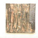 Albert Herbig - Tempera/Bleiplatte auf Baumwolle - 50 x 50 cm